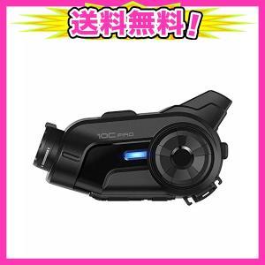 Sena(セナ) 10C プロ 2K バイク用インカム Bluetooth インターコム カメラ内蔵 10C-Pro-01 [並行輸入品]|ajplaza