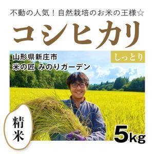 【精米5kg】自然栽培のコシヒカリ 山形県「みのりガーデン」|ak-friend