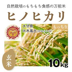 【玄米10kg】自然栽培のヒノヒカリ 大分県「火水風土」・玄米|ak-friend
