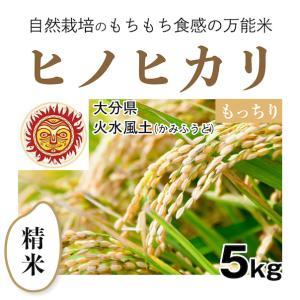 【精米5kg】自然栽培のヒノヒカリ 大分県「火水風土」・お米|ak-friend
