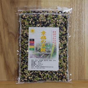 自然栽培の雑穀「幸せ五穀」|ak-friend