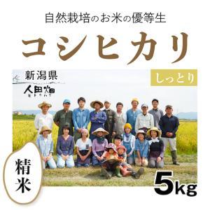 【精米5kg】自然栽培のコシヒカリ 新潟県「自然栽培新潟研究会」|ak-friend