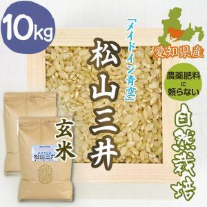 【玄米10kg】自然栽培の松山三井 愛媛県「メイドイン青空」|ak-friend