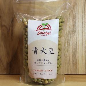 自然栽培 青大豆 300g|ak-friend