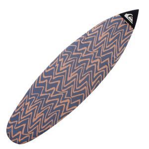 QUIKSILVER サーフボードニットケース  サイズ:6'0ショートボード  カラー:オレンジ ...