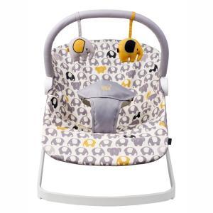 新生児から使えてコンパクトに折りたためるバウンサーです。軽量・組み立ていらずでおうちの中での移動に便...