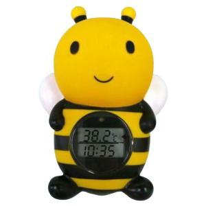 デジタル湯温計 ルーム&バスサーモメーター デジタル式【RBTM002】みつばち|akachandepart