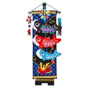市松兜の鯉のぼり 小66cm【室内鯉のぼり】【室内飾り】【つるし飾り】 akachandepart