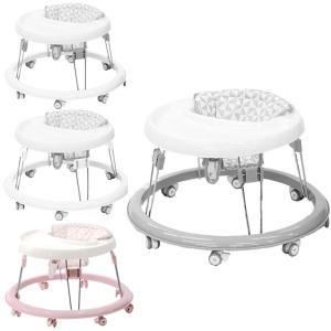 歩行器 ベビー ハピネスウォーカー ヤトミ 赤ちゃん テーブル付き 折りたたみ 円形 ウォーカー ベ...