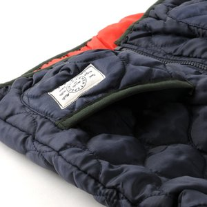 539f47b7fcc3a ... 40%OFF 送料無料 子供服 コート ジャンパー   キルト 中綿 ジャケット   紺色 ネイビー ...