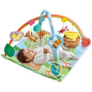 ジムは小さな赤ちゃんでも一生懸命遊べるおもちゃです。 赤ちゃんは生まれてから日中の大半をあお向けで寝...