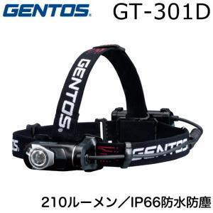 GENTOS GT-301D ジェントス LED ヘッドライト ヘッドランプ オートディマー アルカ...