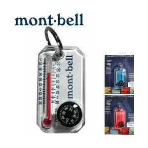 mont-bell(モンベル) サーモコンパス #1827632(アウトドア キャンプ 登山 防災用品 温度計 キーホルダー アクセサリー)(DM便可能・ネコポス可能:2個まで)|akagi-aaa