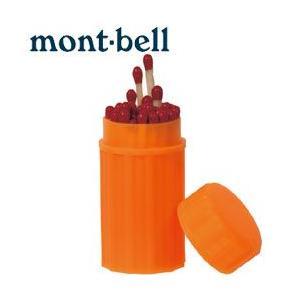 mont-bell(モンベル) ウォータープルーフマッチ #1124310(アウトドア キャンプ 登山 防災用品 避難グッズ 停電 防水)(DM便/ネコポス不可) akagi-aaa