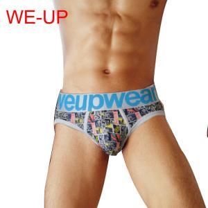 WE-UP/ウィーアップ 人気商品 男性プレゼント アンダーウェア メンズインナ スポーツ ブリーフ WE01|akahimensfashion