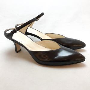 YOSHITO ヨシト ミュール 前つまり ストラップ パンプス 靴 85yst7146bl|akai-kutsu