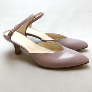 YOSHITO ヨシト ミュール 前つまり ストラップ パンプス 靴 85yst7146sp|akai-kutsu