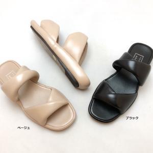 YOSHITO ヨシト ミュール サンダル 中綿入り フラットソール 靴 85yst8103|akai-kutsu