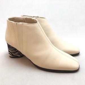 21.5cm スモールサイズ ブーティ アンクル ブーツ ヒール シューズ 靴 2520|akai-kutsu