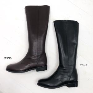 2021秋冬新入荷 yuko imanishi+ ユウコイマニシプラス ロングブーツ プレーン シンプル ファスナー 靴 76922|akai-kutsu