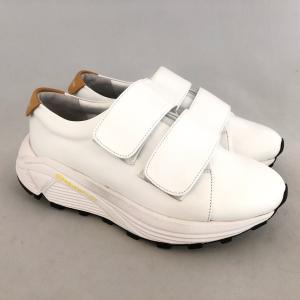 ARLETTE LILY アルレットリリー ダッドスニーカー レザー ベルクロ 厚底 靴 94al1999w|akai-kutsu