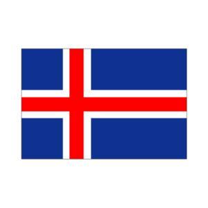 アイスランド国旗140×210cm|akai-tropfy