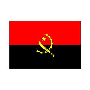 アンゴラ国旗140×210cm|akai-tropfy