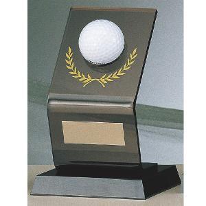 ホールインワン記念 ホールインワントロフィー B-9099:ホールインワンの記念ボールを飾れる記念品 akai-tropfy