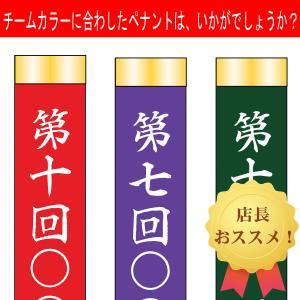 カラーペナント90cm片面名いれ|akai-tropfy