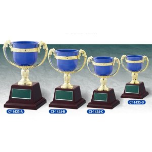 格安カップ CT1435D:野球・空手・ゴルフ・サッカー・全ジャンルに優勝杯・優勝カップ akai-tropfy
