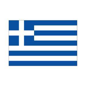ギリシャ卓上旗|akai-tropfy