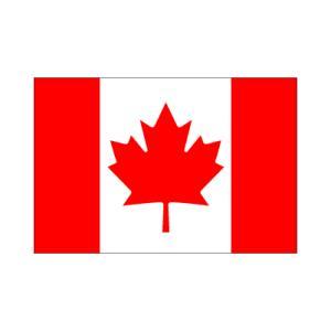 カナダ卓上旗|akai-tropfy