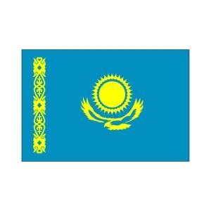 カザフスタン国旗|akai-tropfy
