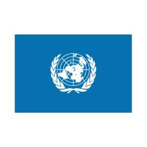 国際連合卓上旗|akai-tropfy