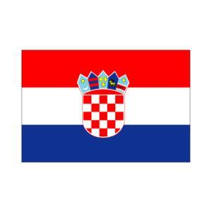 クロアチア卓上旗