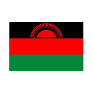 マラウイ国旗90×135cm akai-tropfy