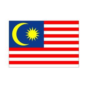 マレーシア国旗90×135cm|akai-tropfy