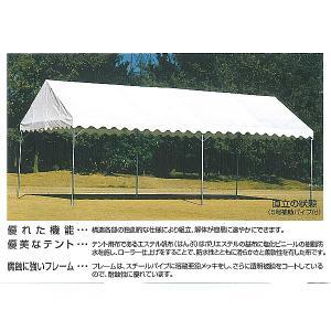 New フレームテント 2間 x 3間 白色|akai-tropfy