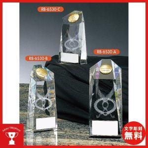 レリーフ選択式クリスタルブロンズ RB6530A:社内表彰・企業表彰・周年記念・コンテスト用に高級感あるガラス製トロフィー・クリスタルトロフィー|akai-tropfy