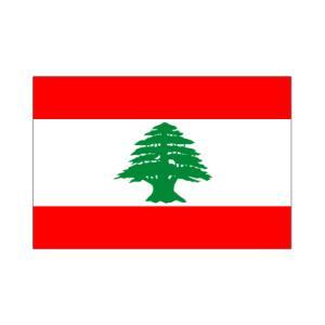 レバノン国旗90×135cm|akai-tropfy