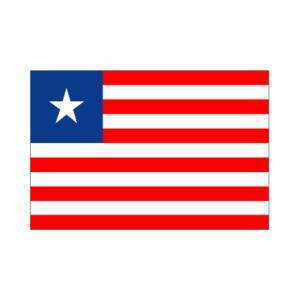 リベリア国旗|akai-tropfy