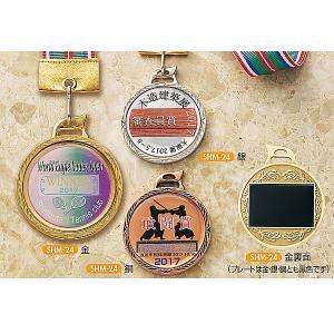 オリジナルメダル,SHM24 特注UVフルカラー&透明樹脂盛加工レリーフ φ52mm|akai-tropfy
