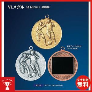 一般メダル,VLメダルY型 (V形リボン付) Φ40mm|akai-tropfy