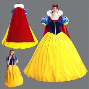 白雪姫 コスプレ 衣装 ハロウィン レディース 白雪姫 ワンピース ドレス 大人用 女王 魔女 コスプレ衣装 コスチューム 仮装 サンタ衣装 パーディーグッズ|akalui