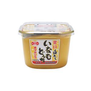 赤マルソウ 沖縄の調味料 いなむどぅちみそ(甘口白みそ) 500gカップ akamarusou