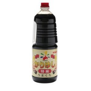業務用 調味料 赤マルソウ かりゆし醤油 1.8L ペットボトル akamarusou