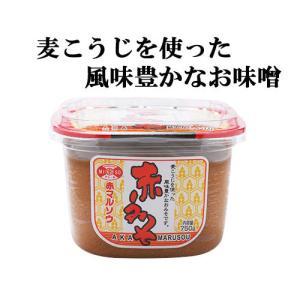 赤みそ 750グラム カップ 赤マルソウ 沖縄の調味料 akamarusou