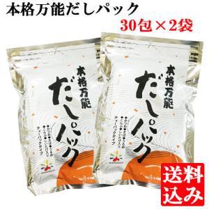 【送料込み】本格万能だしパック 2袋 ネコポス 送料無料 時短料理 簡単調味料 出汁|akamarusou