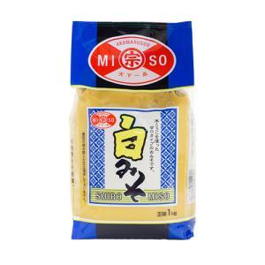 赤マルソウ 白味噌(米みそ)1kg 味噌汁 いなむどぅち イナムドゥチ 白みそ akamarusou