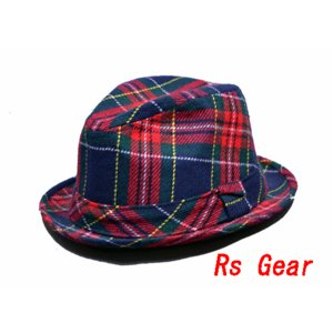 NEWYORK HAT #5521 TARTAN REX|akamonbrother-rsgear